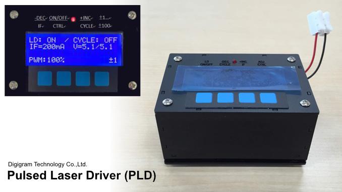 Digigram Pulsed Laser Driver